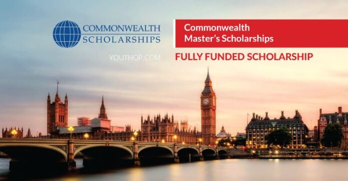 Fully Funded Commonwealth Scholarship